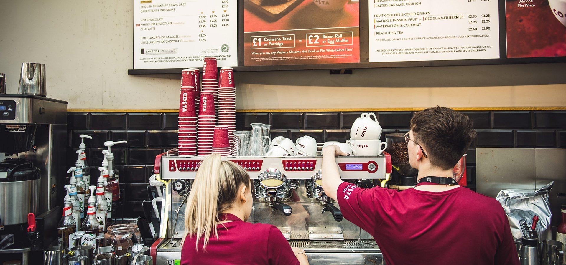 Costa Coffee Brindleyplace Birmingham