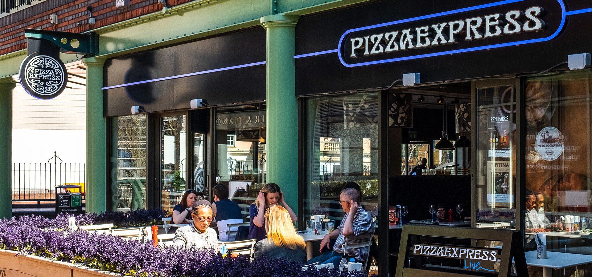Pizza Express Brindleyplace Birmingham
